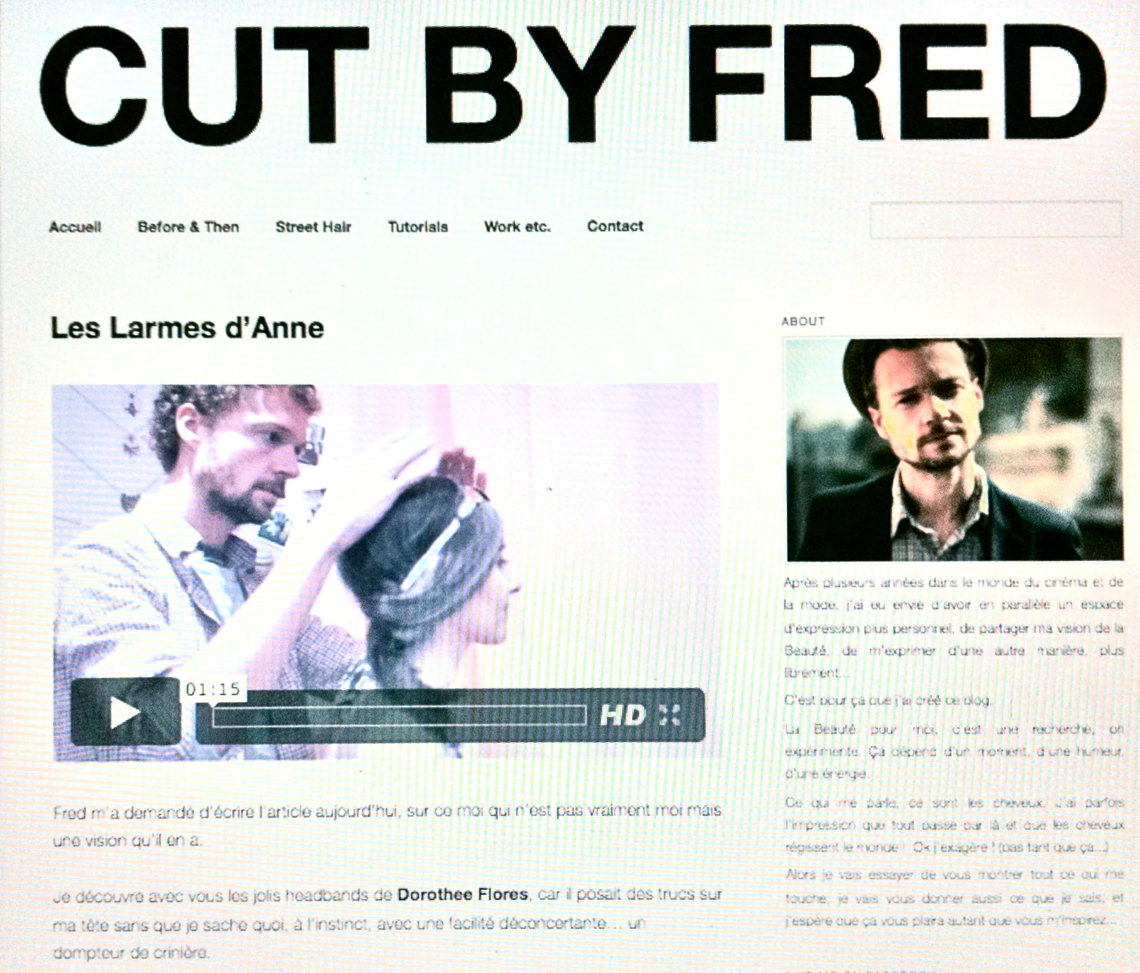 CUT BY FRED