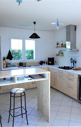 Cuisine bois métal Nantes