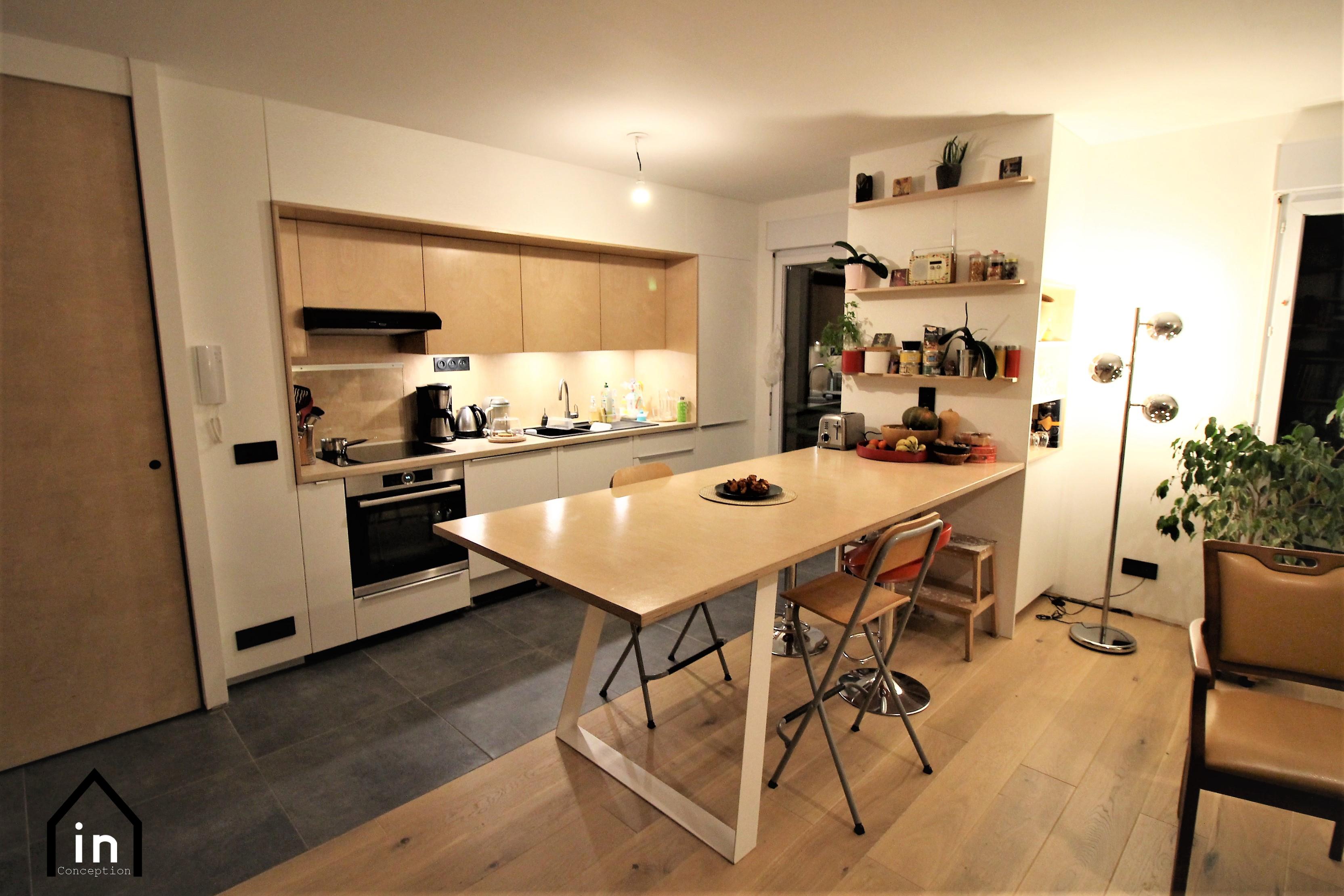 Cuisine Table et rangements