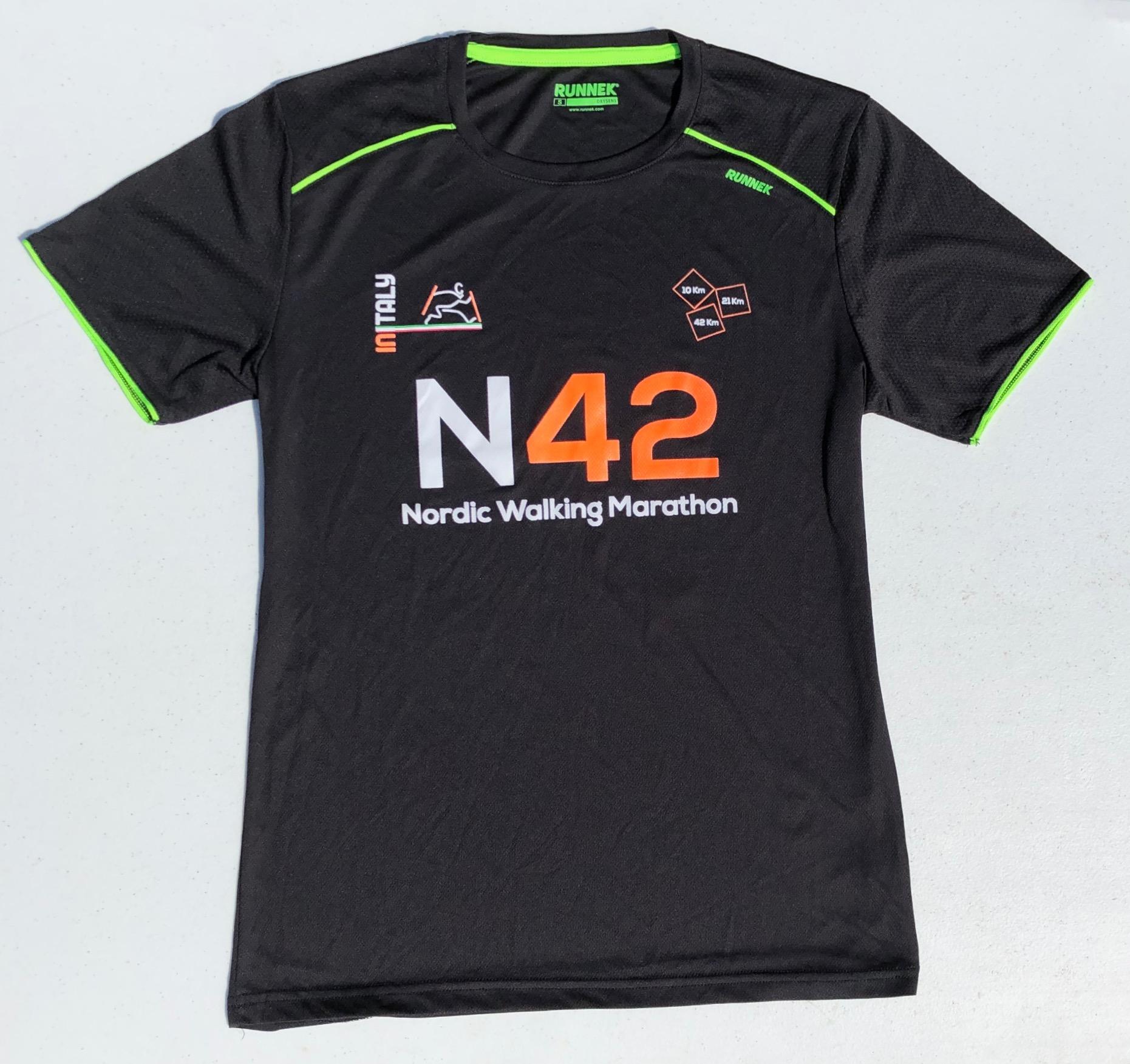 Maglietta N42 arancione