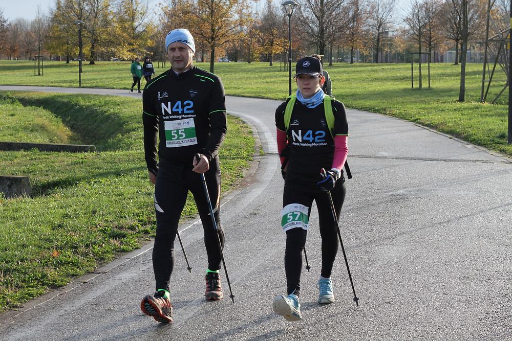 Walker alle prese con la mezza maratona durante la prima N42