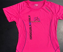 Maglietta NWITALY rosa