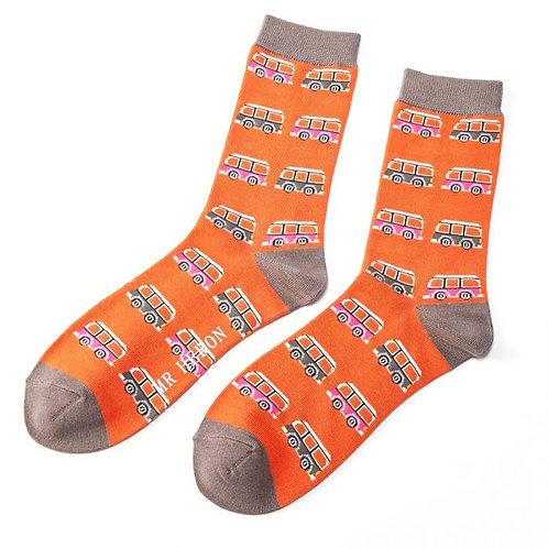 Mr Heron Campervan Socks