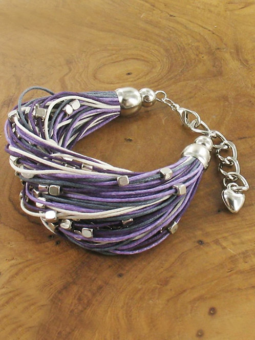 Multi-Strand Cotton Bracelet