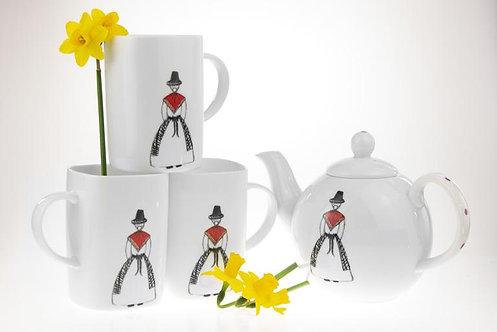 Welsh Connection - Dilys Teapot