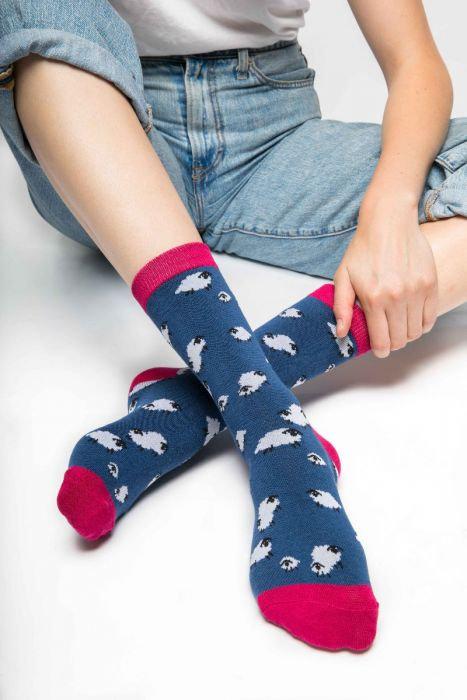 Fluffy Sheep Socks