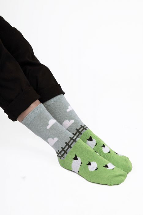 Sheep Meadow Socks