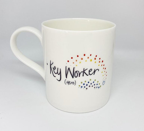 Welsh Connection - Key Worker Hero Fine Bone China Mug