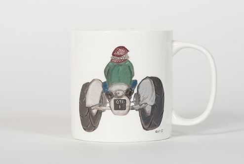 Welsh Connection Fine Bone China Tractor Mug