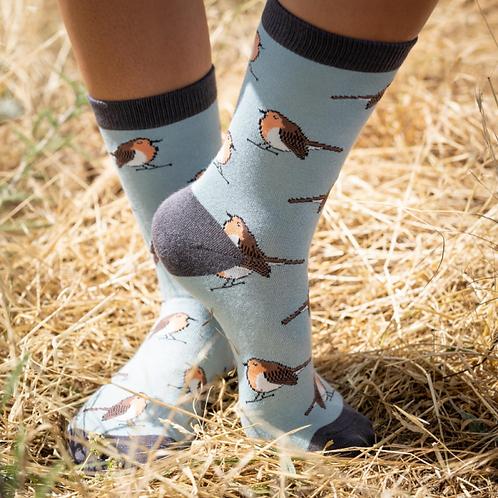 Robins Socks Duck Egg