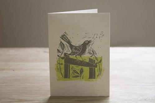 Bird Song Greetings Card