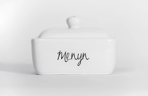 Welsh Connection -Menyn Butter Dish