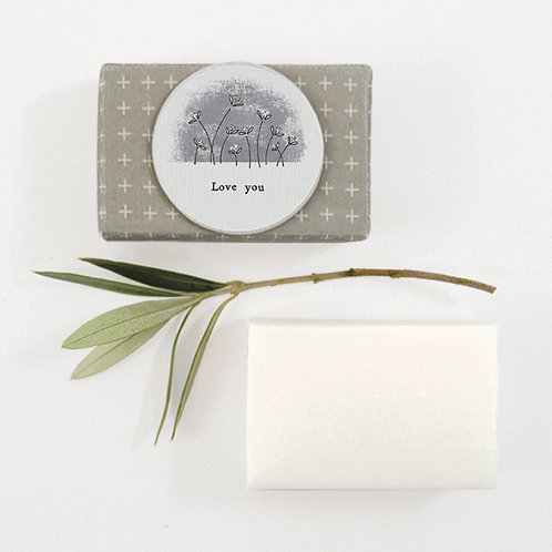 Wrapped soap-Love you