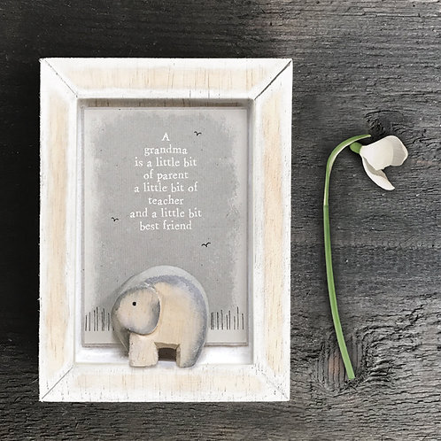 Nursery picture-A grandma is...