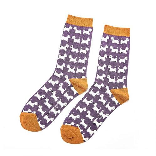 Scottie Dogs Socks