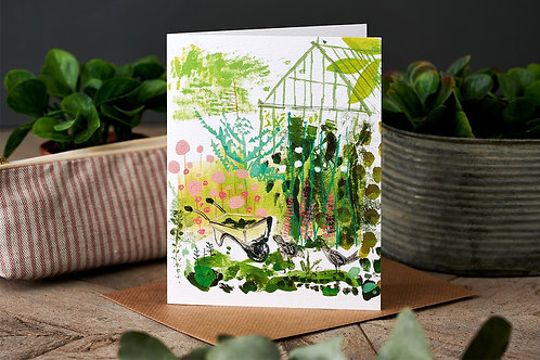 The Greenhouse Greetings Card