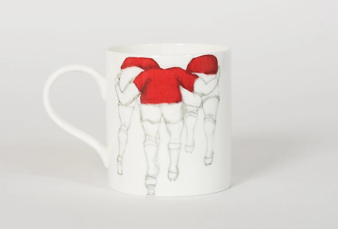Welsh Connection Medium Mug - Red Rugby