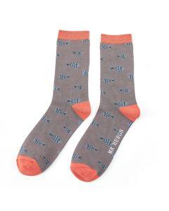 Mr Heron Fish Socks