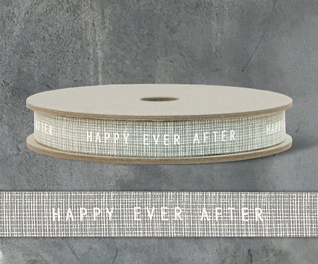 20m Geometric Ribbon-Happy Ever After