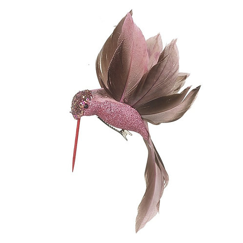 Pink Bird With Feather Wings