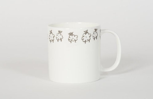 Welsh Connection - Medium Mug Sheep