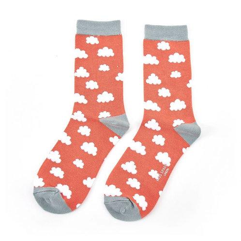 Mr Heron Clouds Socks