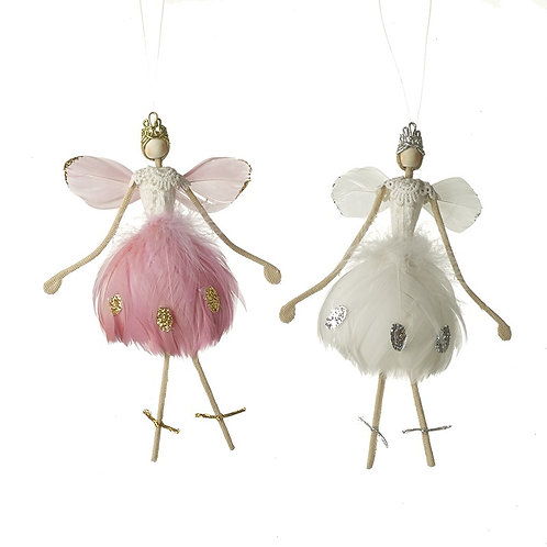 Pink & White Fairy