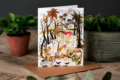 The Copse Greetings Card