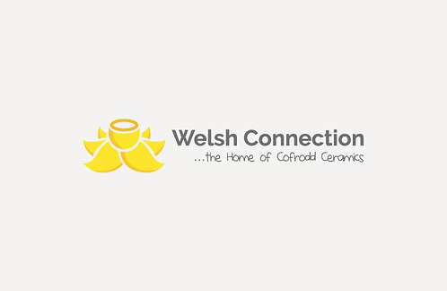 -Welsh Connection 1 Pint Jug Daffs and Dots