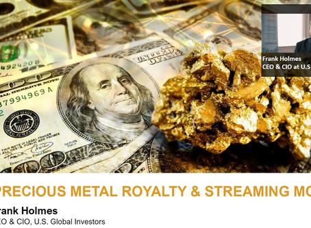 Webinar #2: Maximizing returns and minimizing risk investing in Gold Royalties