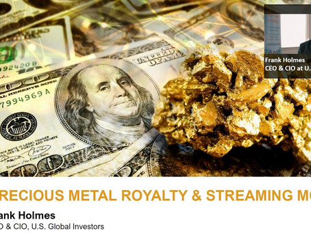 Webinar #2: Maximizing returns and minimizing risk investing in Gold Royalties