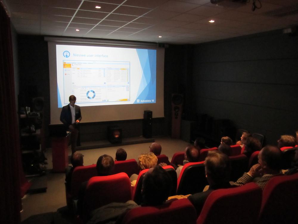 Presentatie van Advodata10