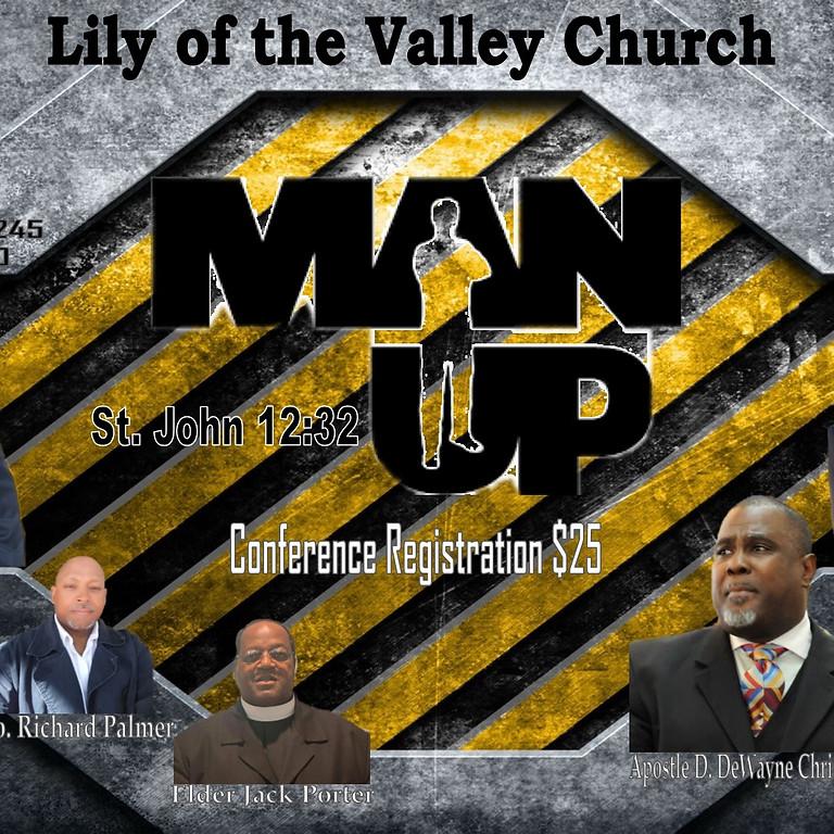 Men's Conference - MAN UP 2020