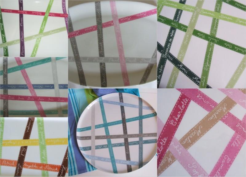 Rubans couleurs variées