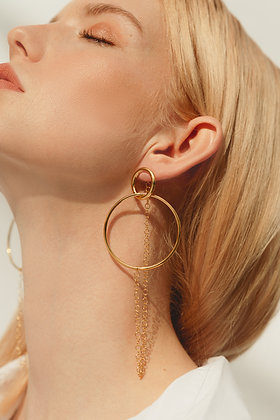 Maxi Twigs Infinity Earrings