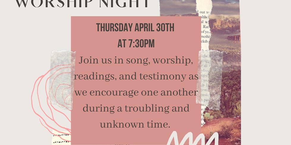 Facebook Virtual Worship Night