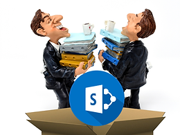 Out of the box, SharePoint is great tool to manage projects of all sizes