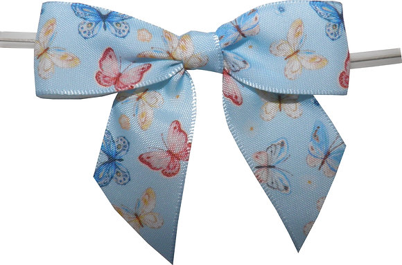 """3"""" Butterfly Twist Tie Bows- 50 pack"""