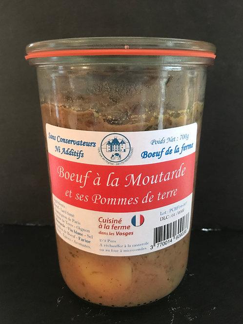 Boeuf à la Moutarde et ses pommes de terre