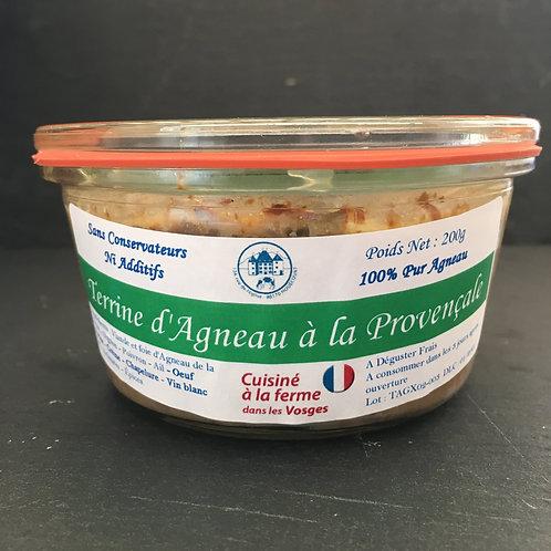 Terrine d'Agneau à la Provençale