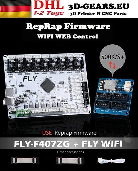 FLY-F407ZG 32BIT Wie DUET 2 WIFI RepRap 3D Drucker TMC2209 9 Motoren