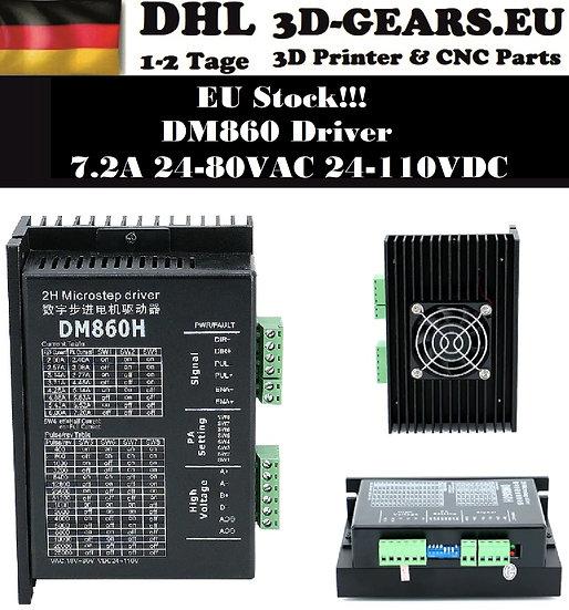 Schrittmotortreiber DM860H 7.2A 24-110VDC Nema34 Driver CNC