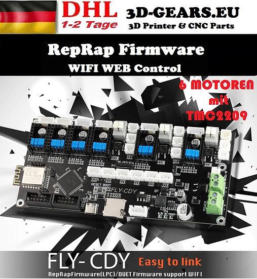 FLY-CDY 32BIT Wie DUET 2 WIFI RepRap 3D Drucker TMC2209 6 Motoren