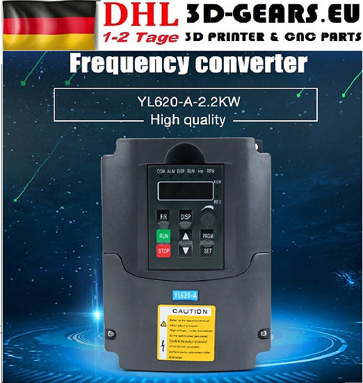 Frequenzumrichter Variable Frequency Driver Inverter VFD 1.5-2.2KW CNC Spindle