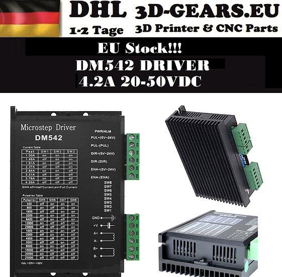 DM542 Schrittmotortreiber 4.2A 20-50VDC Nema 17 Nema 23 Stepper Motor Driver