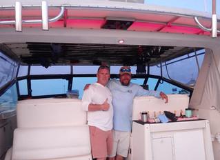 Luck o' The Irish Fishing Charters Goes To Lake Michigan