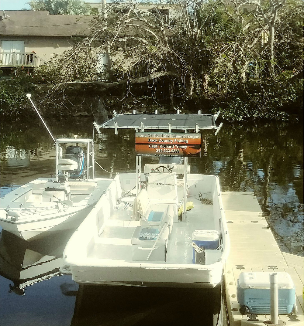 luck o' the irish fishing charters, fort myers beach
