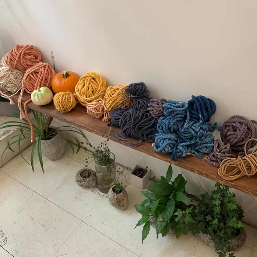 Urban Natural Dye Wool