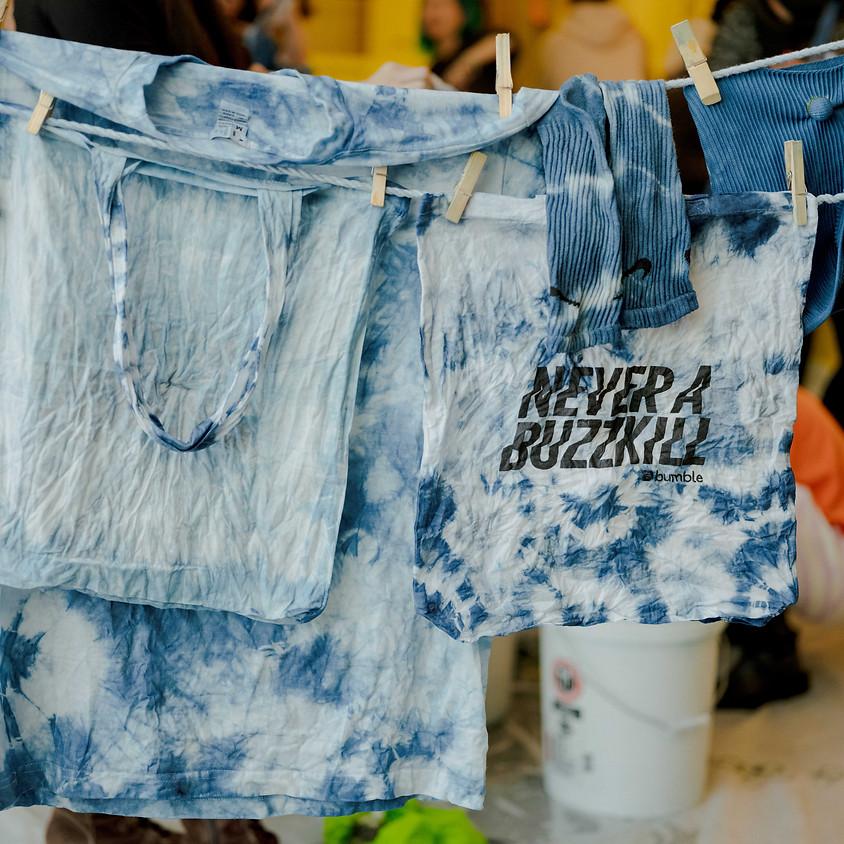Upcycle with Natural Indigo Dye