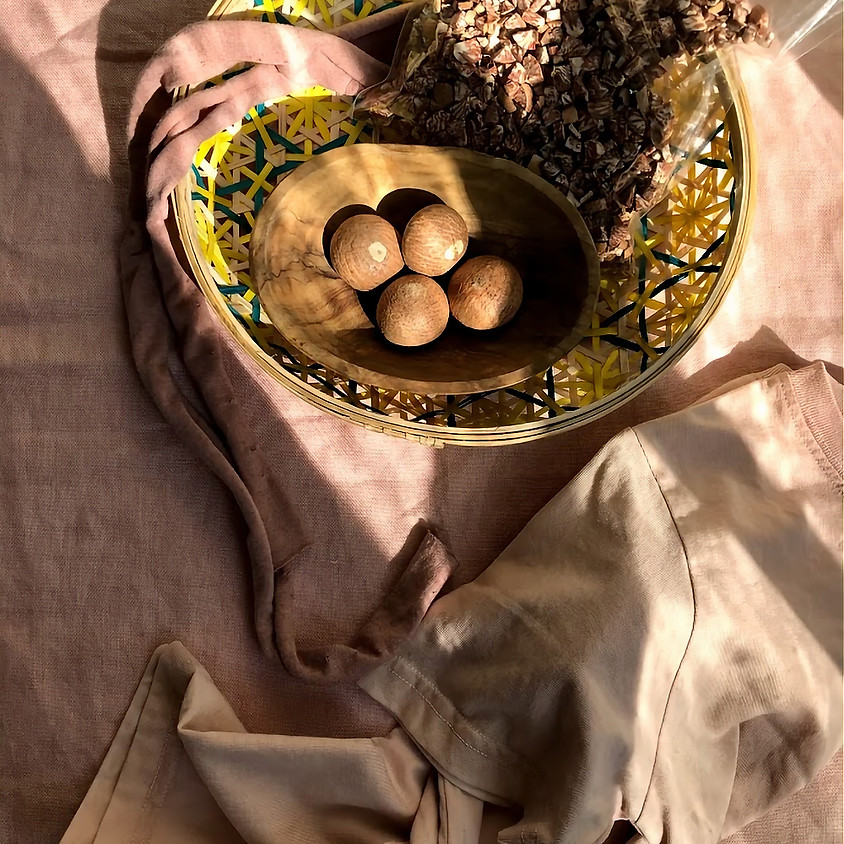 Shopping In Jackson Heights & Natural Dyeing with Areca Nuts